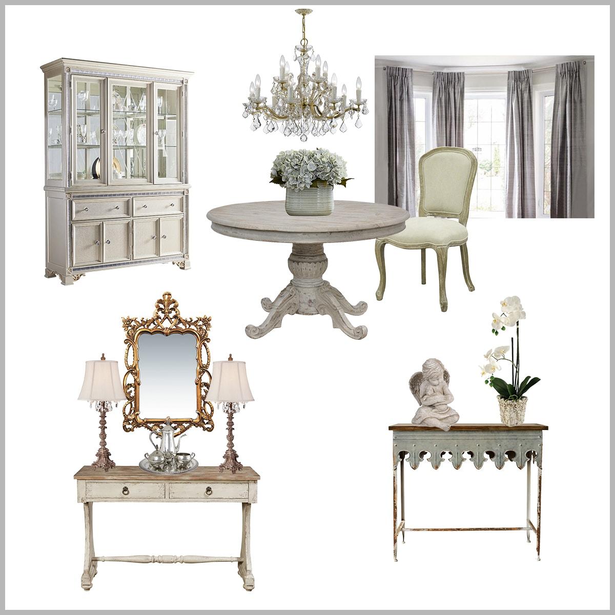 Reader design consultation | formal dining room plan | designthusiasm.com