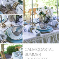 Coastal summer table