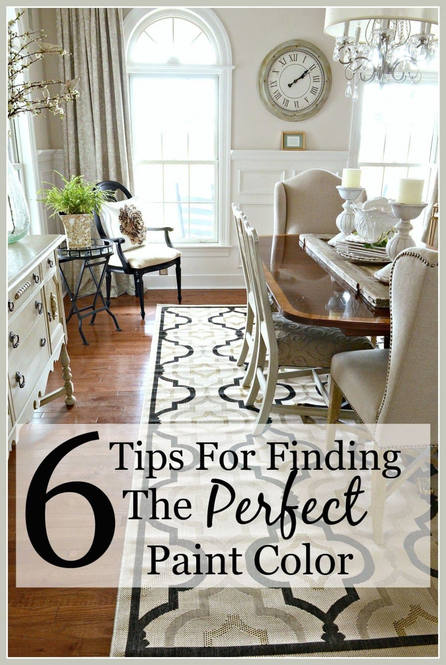 StoneGable | 6 Tips for Finding the Perfect Paint Color