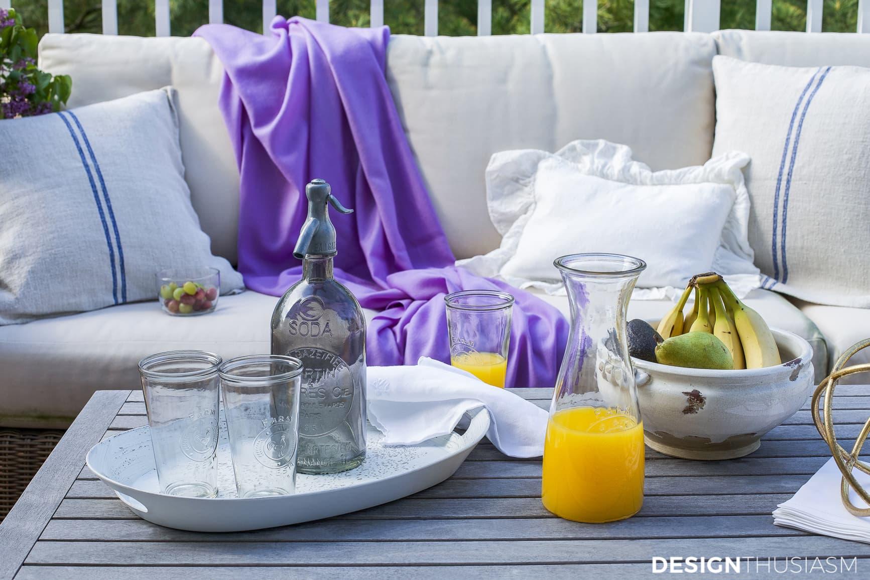 Patio decor outdoor accessories