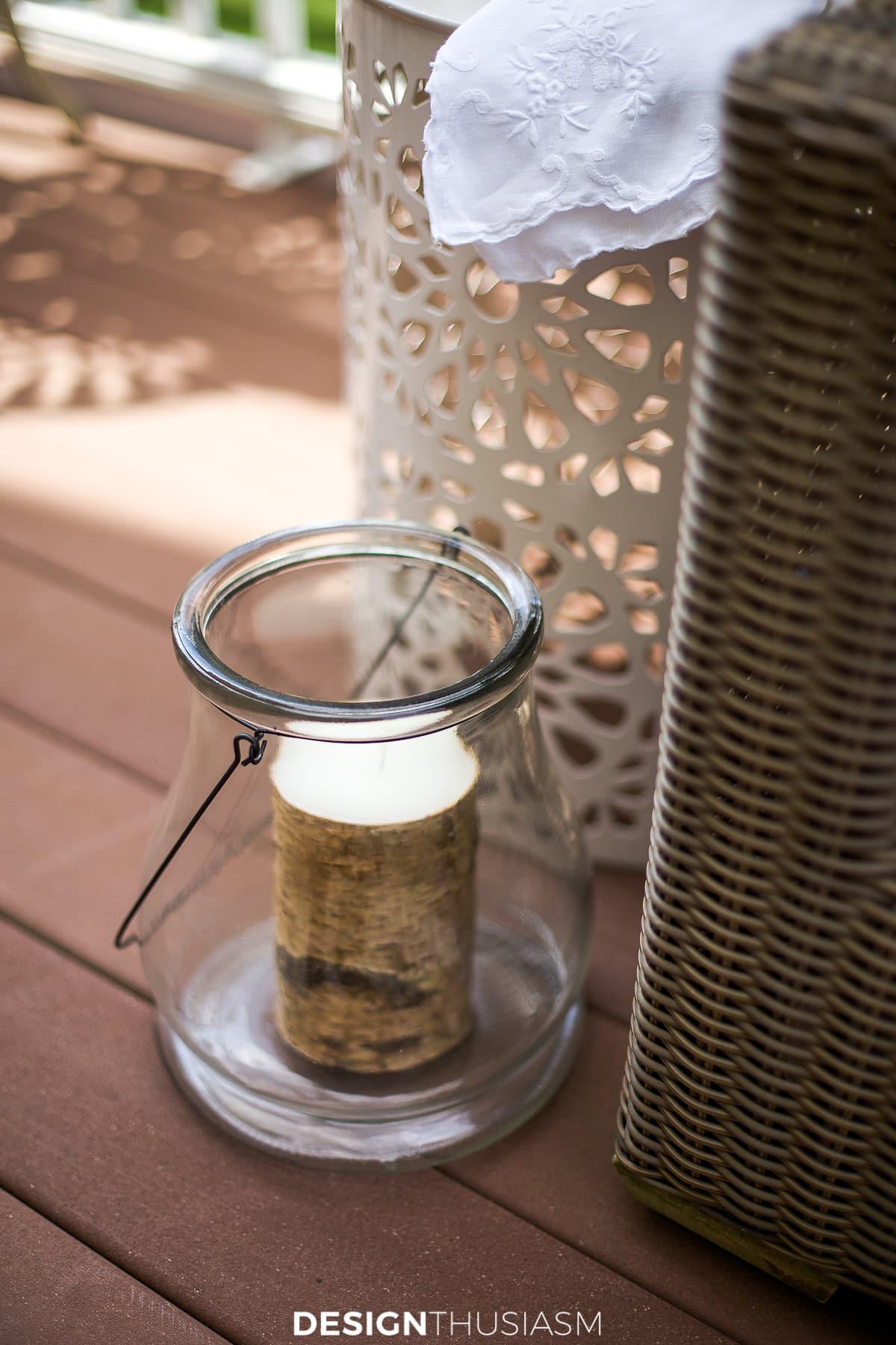 Patio decor lantern