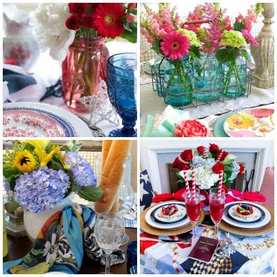Summer Party Decorations: 6 Colorful Tablescape Ideas