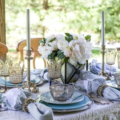 Seaside Decor: Setting a Summer Table with Coastal Dinnerware