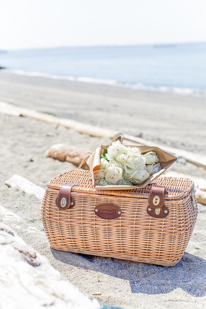 picnic-basket-on-beach