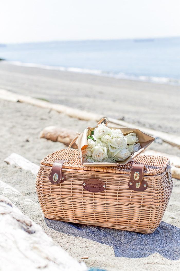 picnic-basket-on-beach