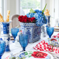 Garden Party Summer Table