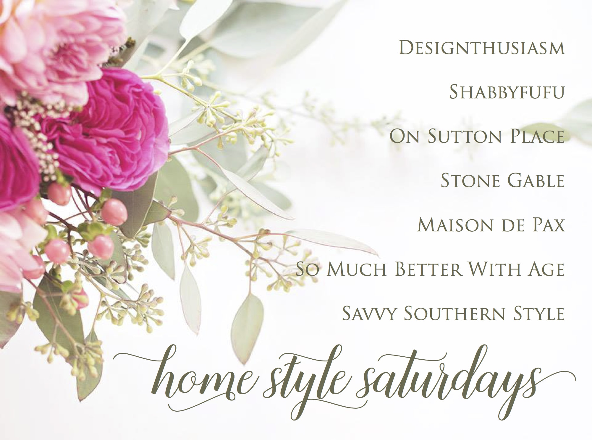 Home Style Saturdays