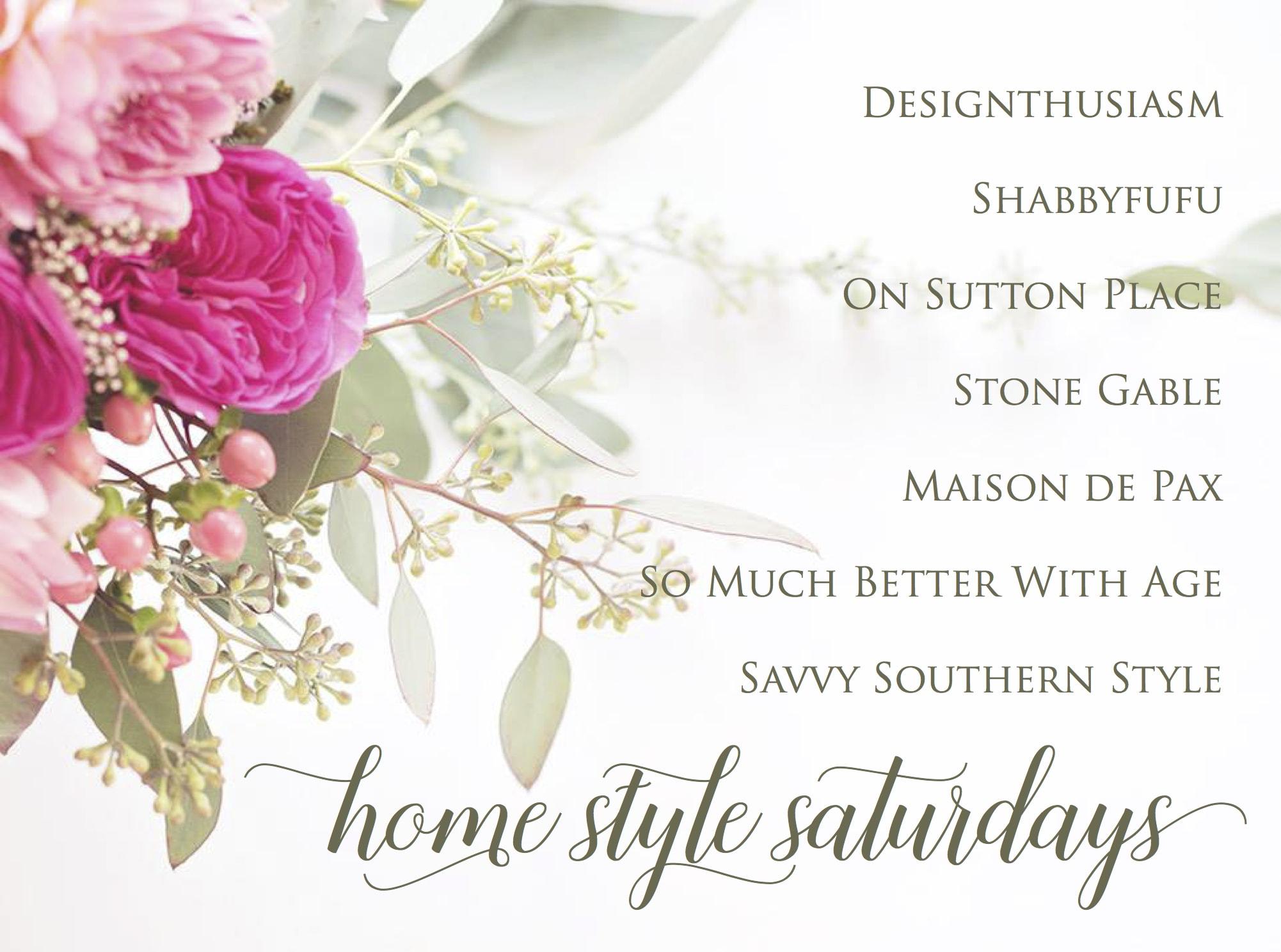 Home Style Saturdays Logo