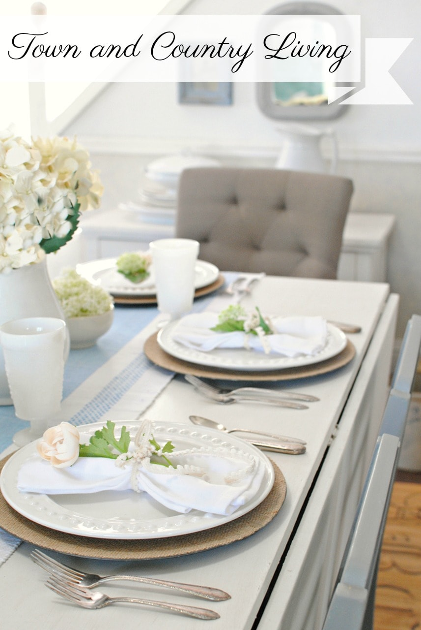 Town N Country Living Summer Table 1