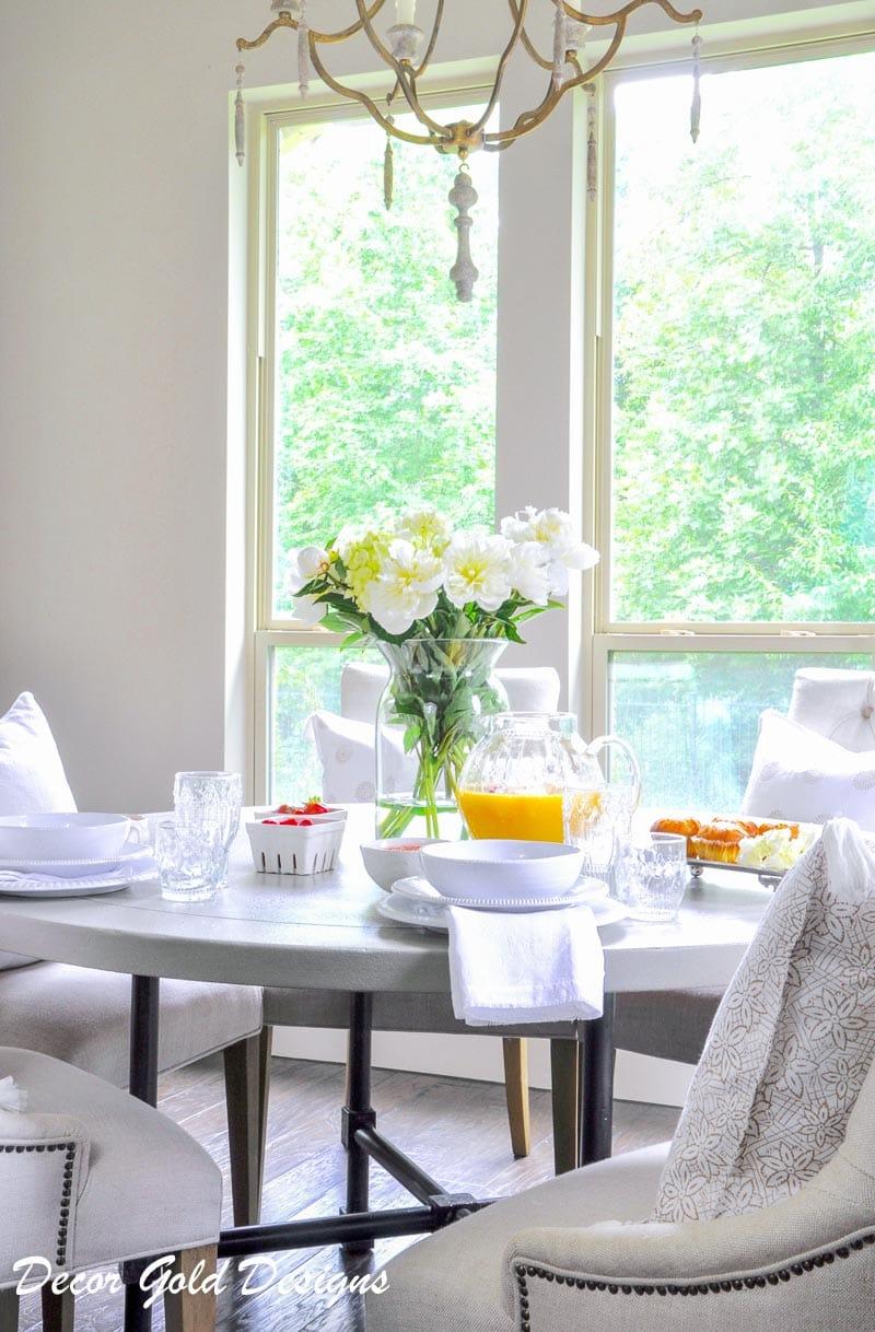 summer breakfast decor gold designs-2