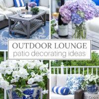Outdoor Lounge Patio Decor