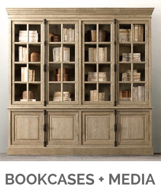 Shop My Favorites - Designthusiasm.com - Bookcases