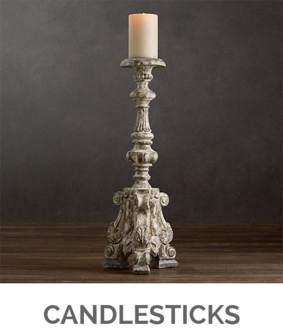 Shop My Favorites - Designthusiasm.com - Candlesticks