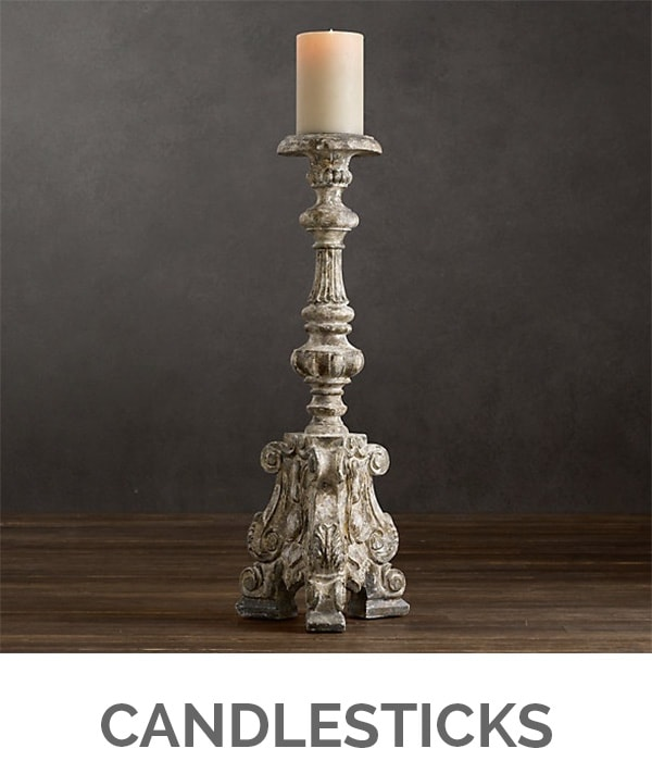 Shop My Favorites - Designthusiasm.com - Candlesticks