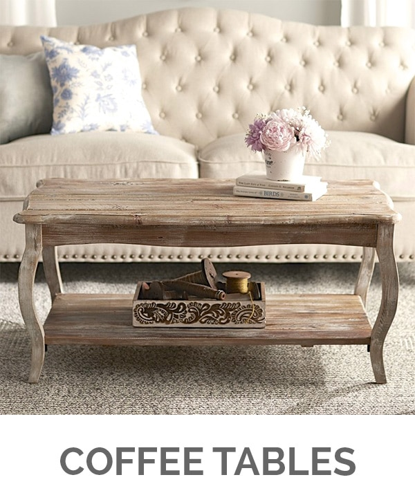 Shop My Favorites - Designthusiasm.com - Coffee Tables