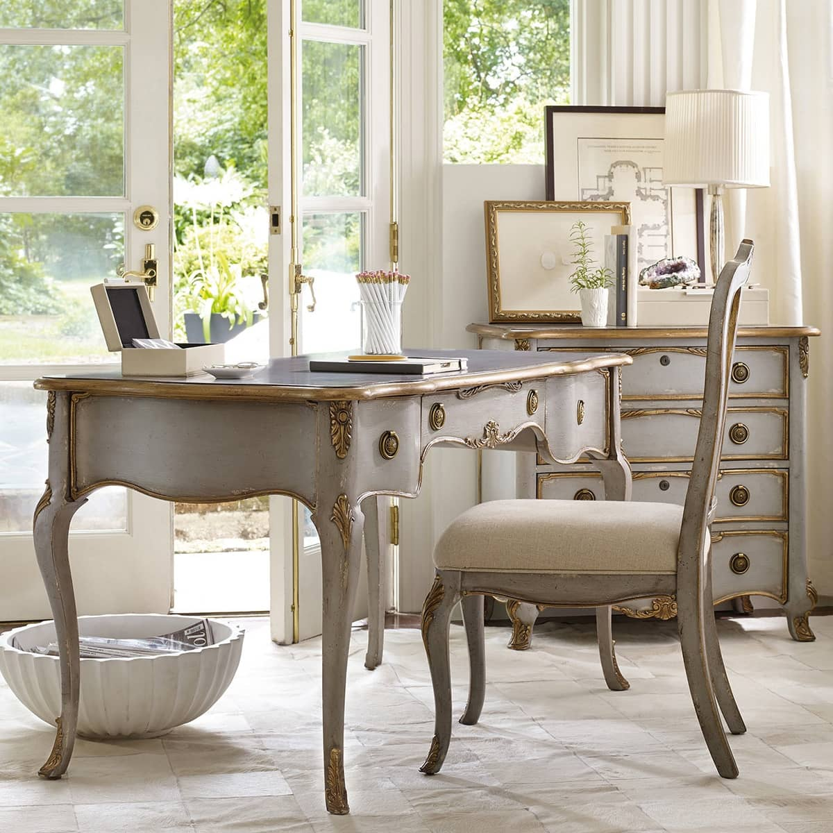 French Writing Desk Shabby Chic Desks Home Office