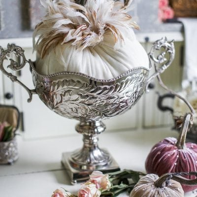 Introducing Fall Decor to Your Home with Neutral Pumpkin Styling