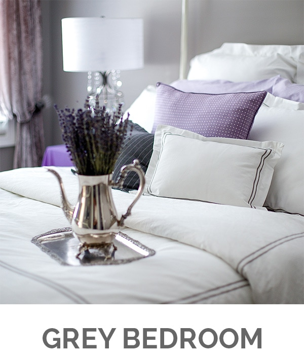 Shop My Home - Grey Bedroom - Designthusiasm.com