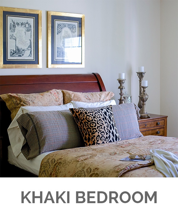 Shop My Home - Khaki Bedroom - Designthusiasm.com