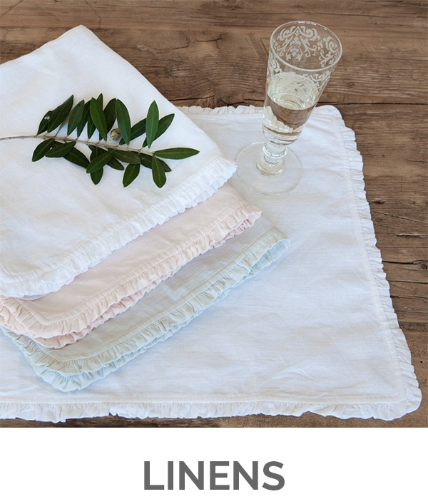 Shop My Favorites - Designthusiasm.com - Linens