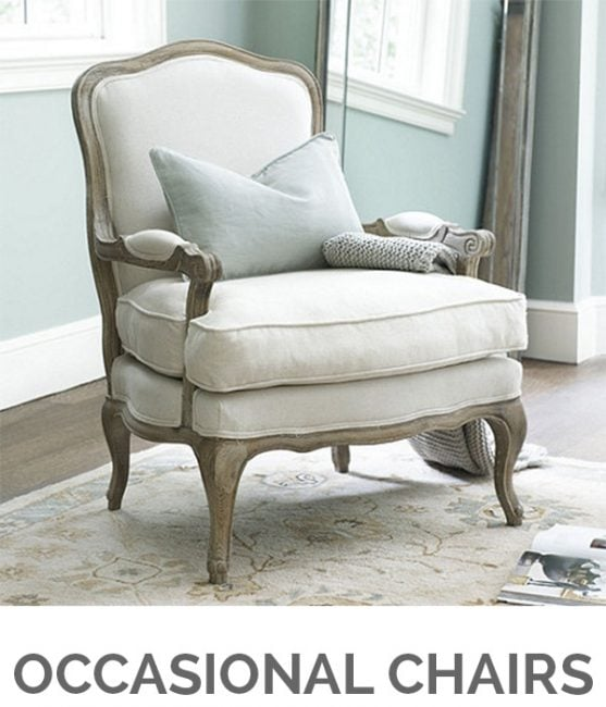 Shop My Favorites - Designthusiasm.com - Occasional Chairs