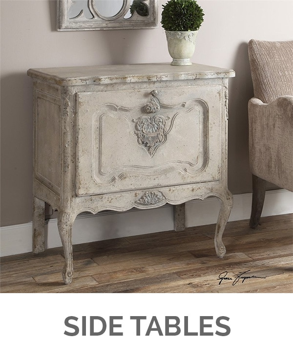 Shop My Favorites - Designthusiasm.com - Side Tables