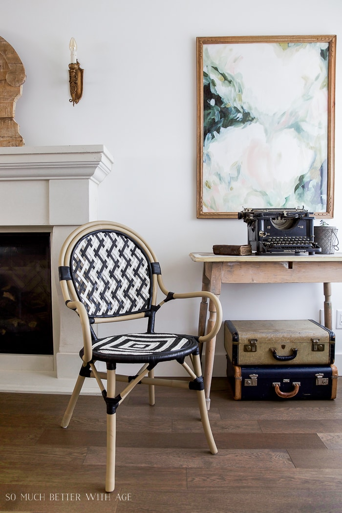 Black White French Bistro Chair Diy