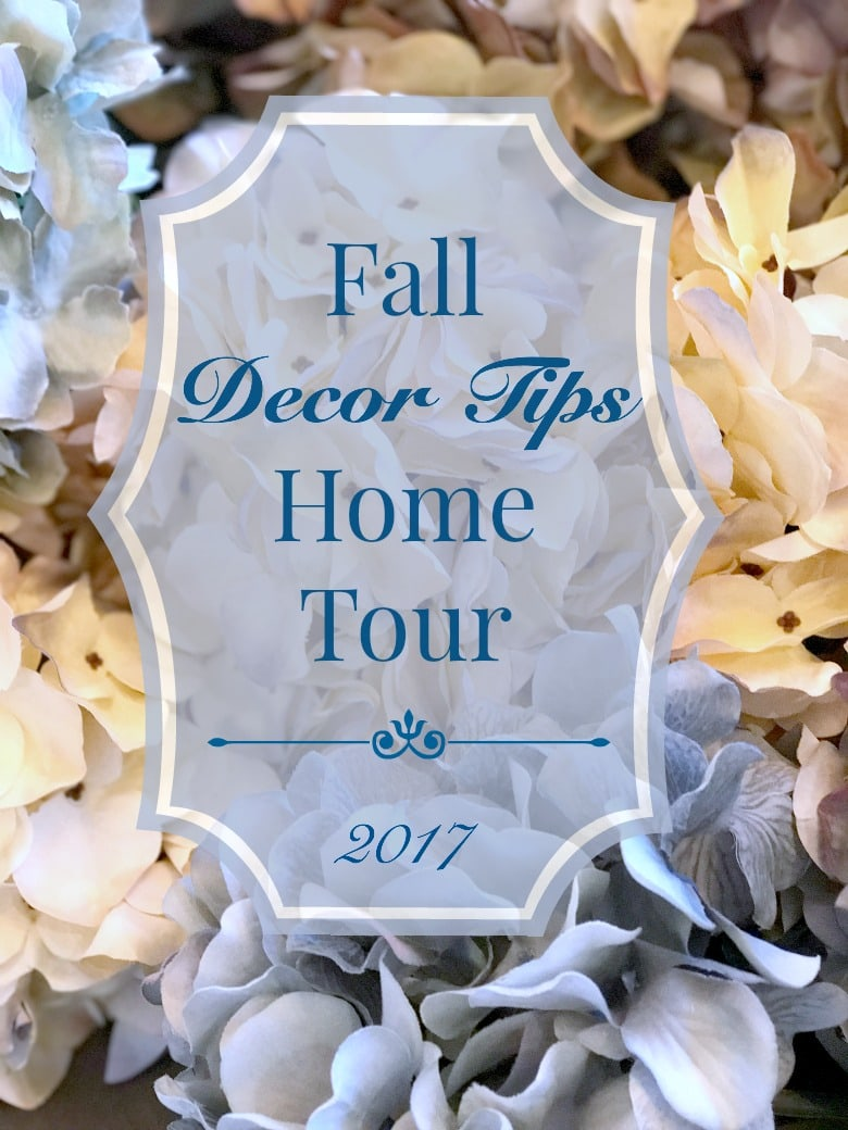 Fall Decor Tips Home Tour