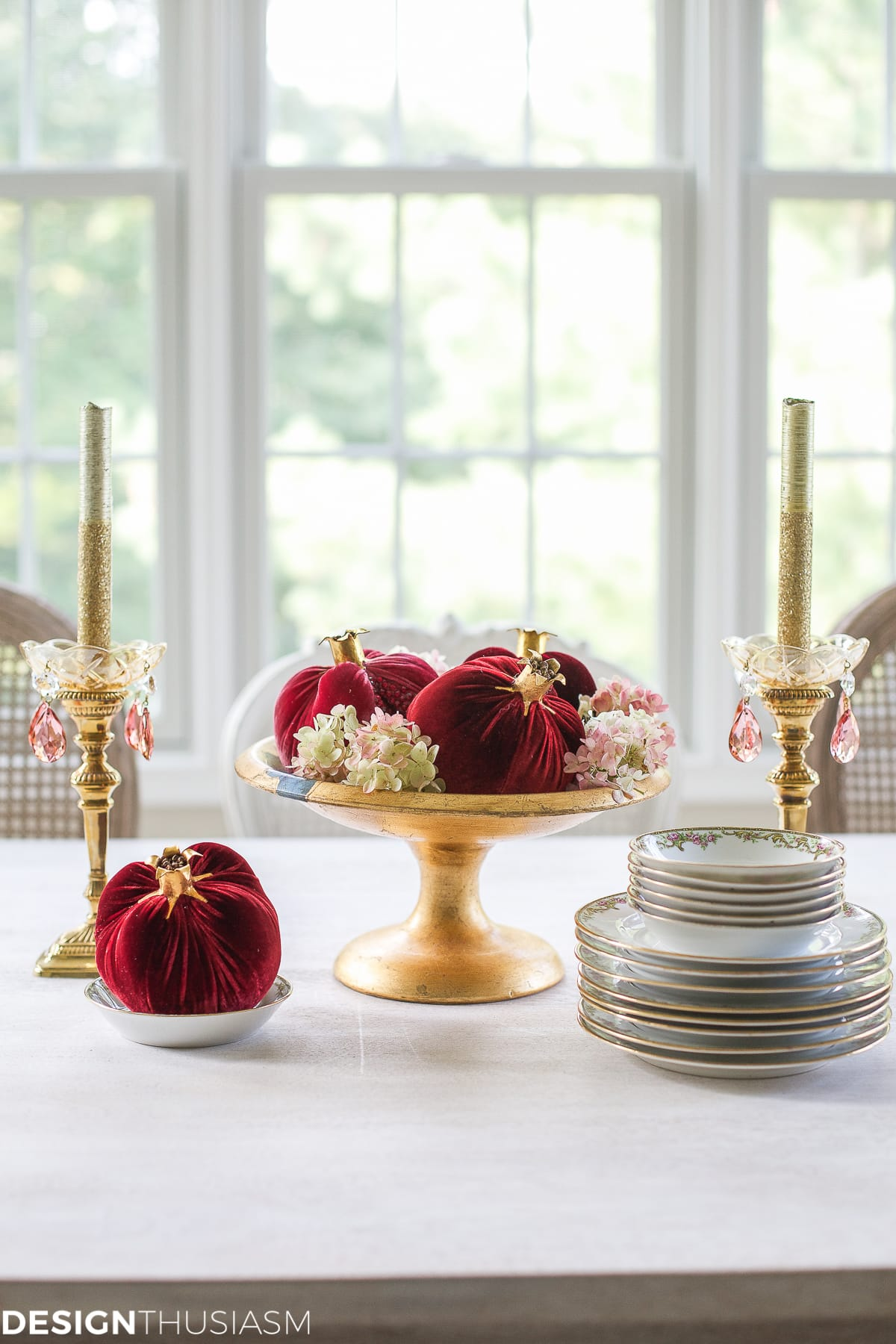 Fall Decorating Ideas | How to Welcome the Season With All 5 Senses - designthusiasm.com