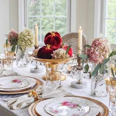 Creating a Simple Table Setting When You Have No Time