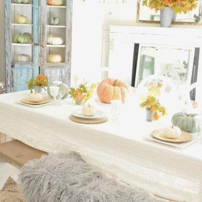 Styled + Set Blog Tour: Thanksgiving Entertaining Day 4