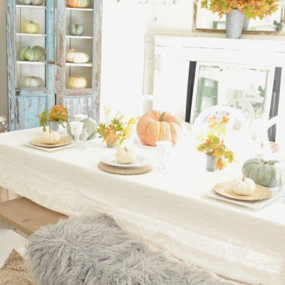 Styled + Set Blog Tour: Thanksgiving Entertaining Day 4