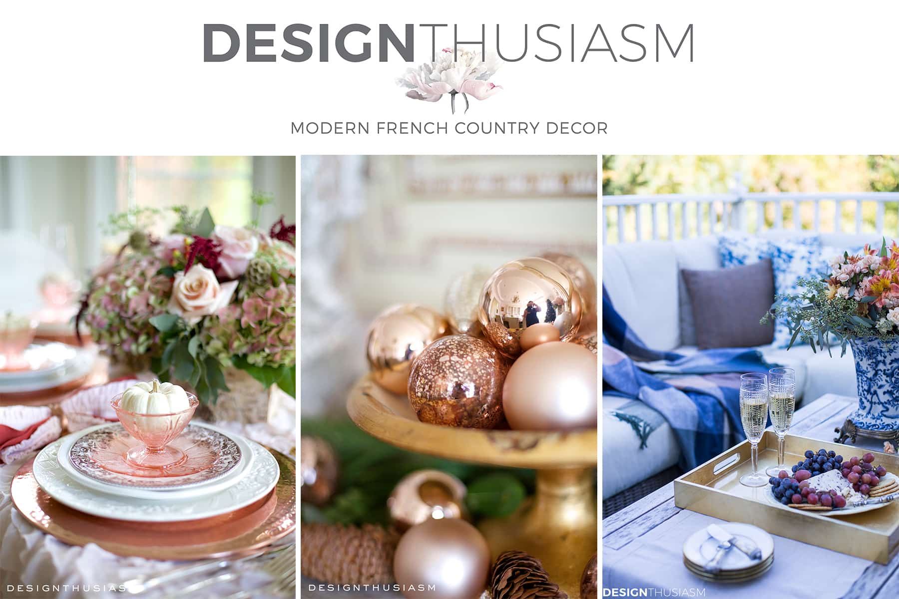 Designthusiasm Modern French Country Decor
