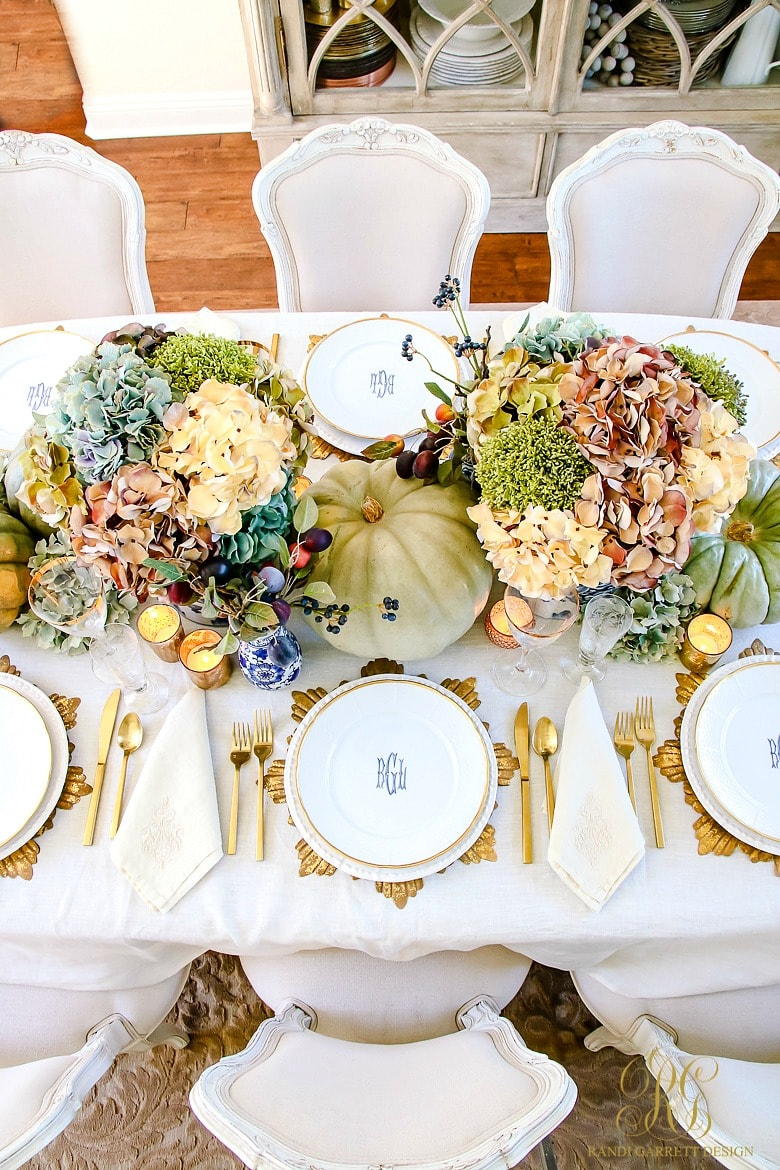 Heirloom Thanksgiving Table - Randi Garrett