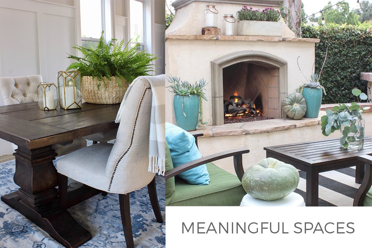 Meaningful Spaces feature