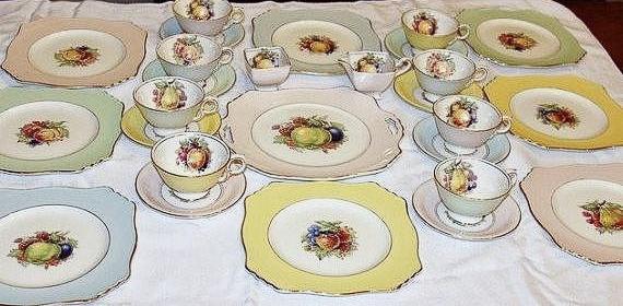 Royal Winton Grimwades 27 Pc Dessert Set