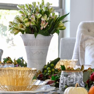 Styled + Set Blog Tour: Thanksgiving Entertaining Day 1