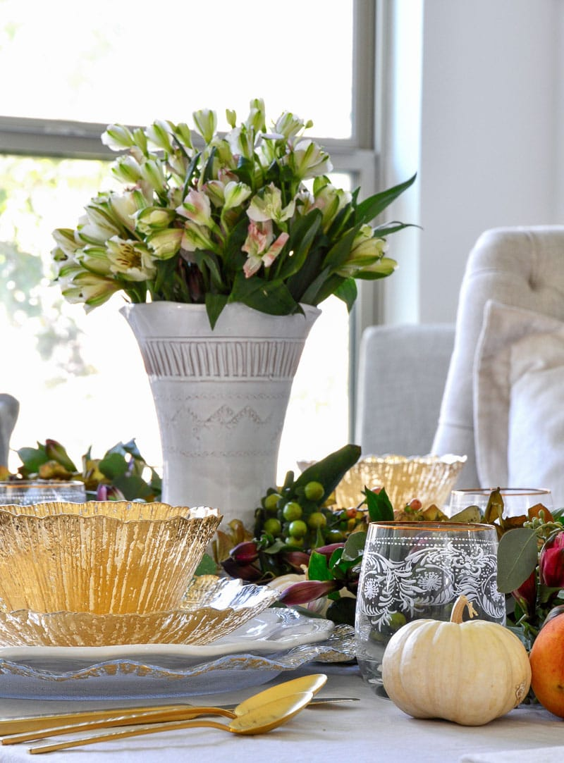 decor gold designs Thanksgiving