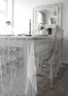 Tulle Fabric Tablecloth