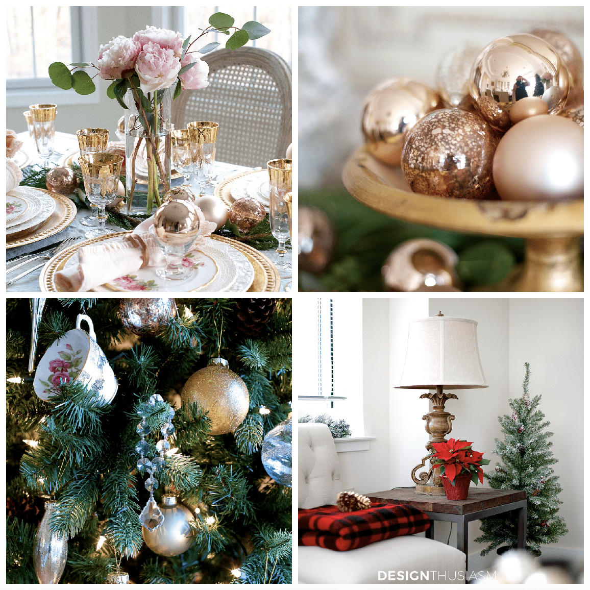 Christmas Baubles and Other Holiday Decor - designthusiasm.com