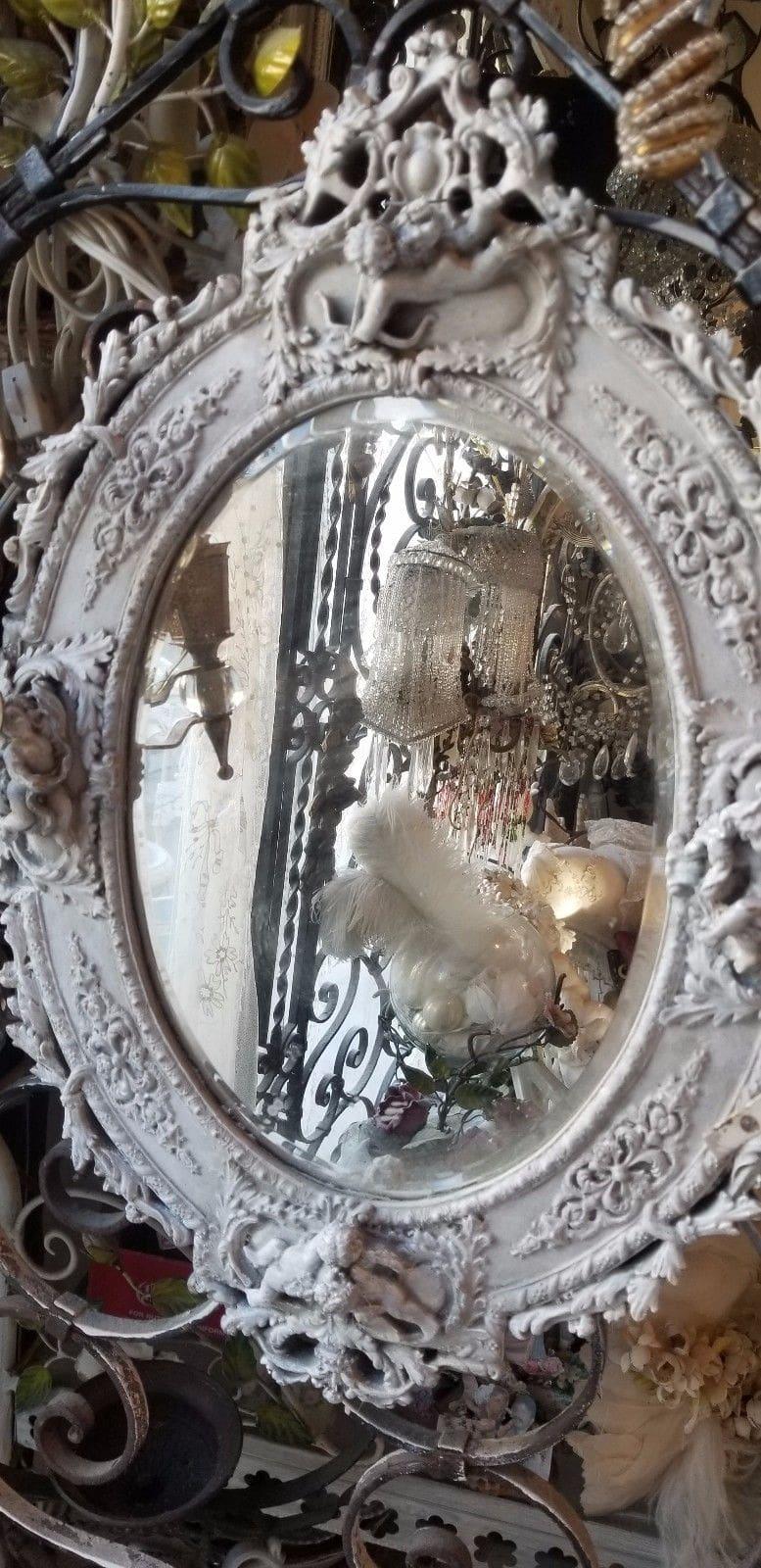 cherubs mirror