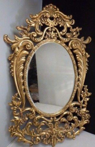 French Vintage Gilt Louis XV style mirror