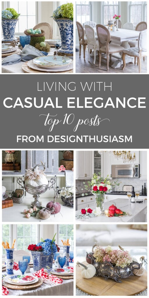 Living with Casual Elegance