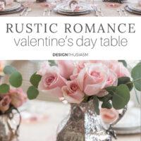 Rustic Romance Valentine's Table