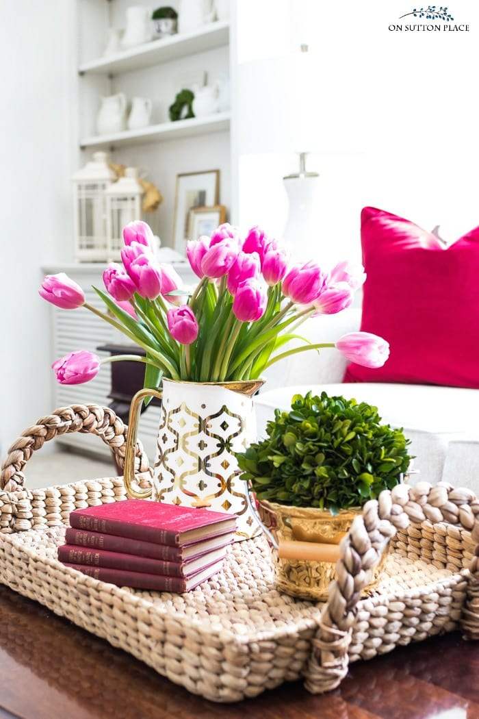 My Five Favorite Valentine's Day Decor Ideas from onsuttonplace.com