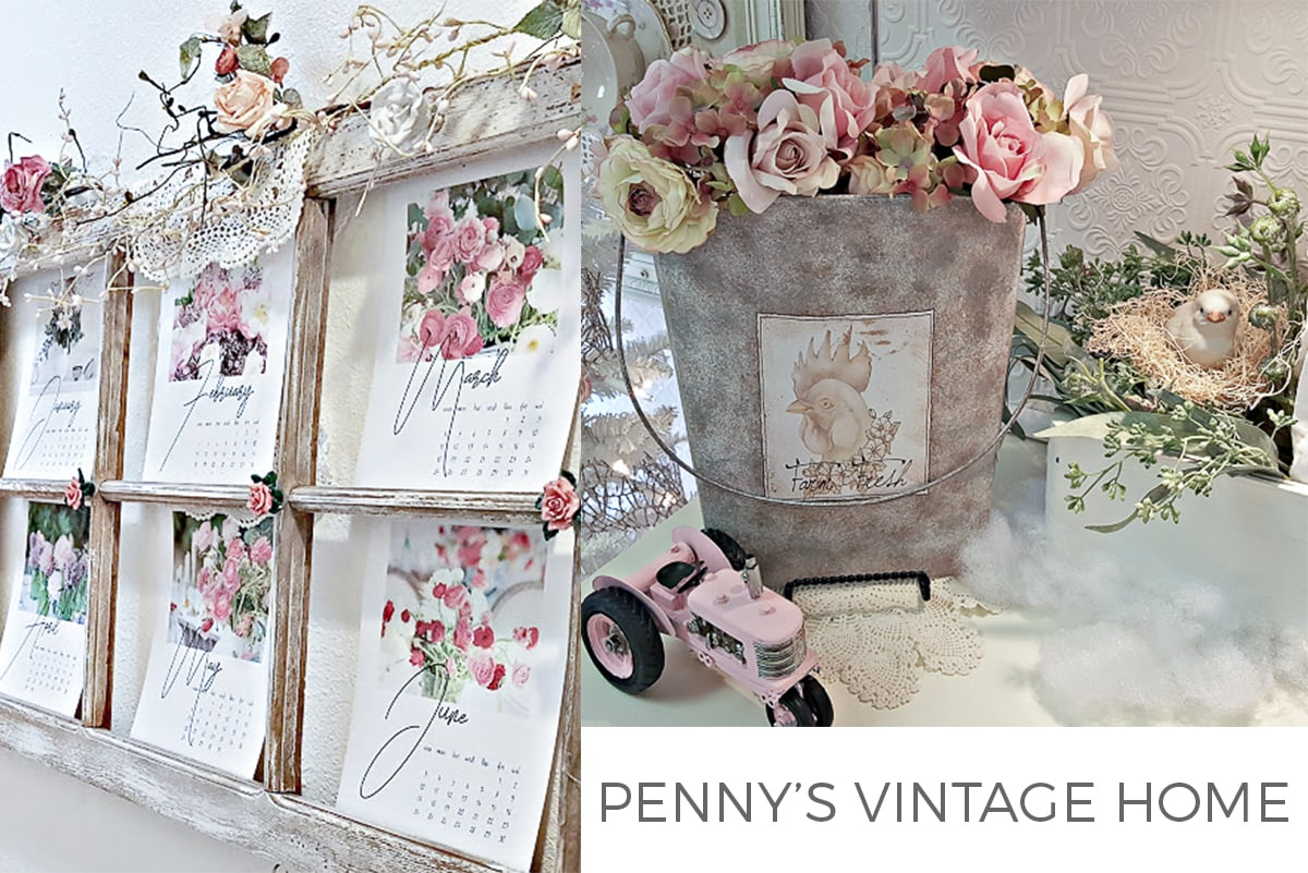 PENNY'S VINTAGE HOME feature