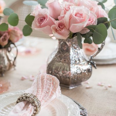 How To Add Rustic Romance Your Valentines Day Table Setting