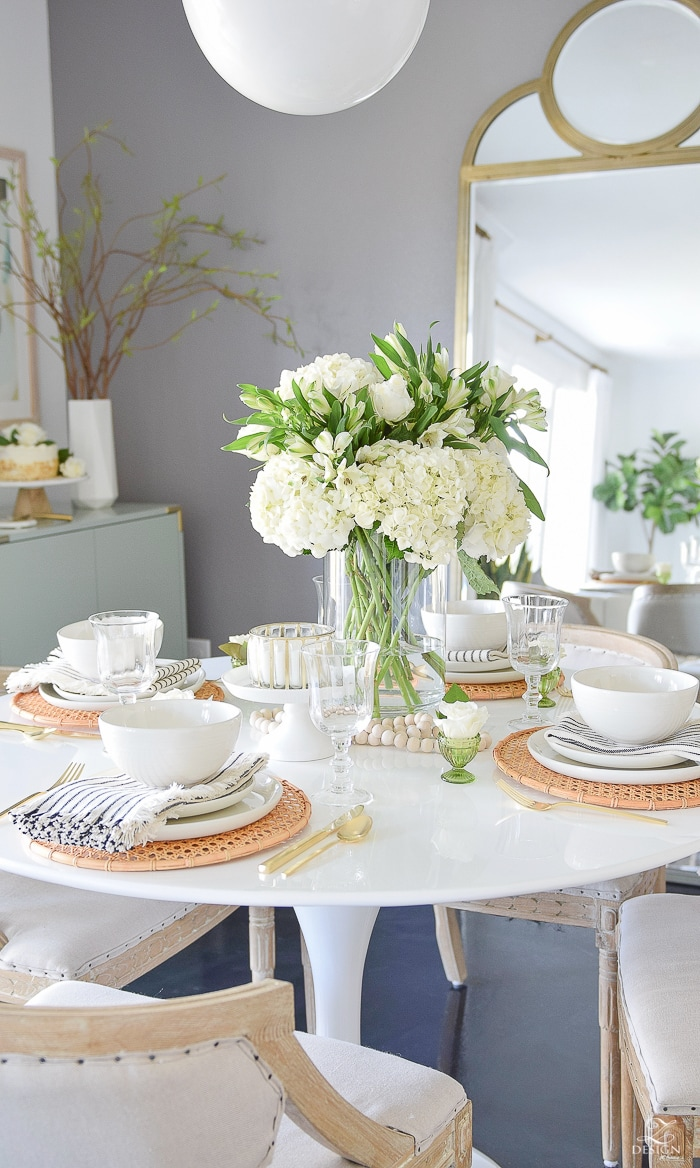Easy, Elegant Easter Table Decor Ideas & Entertaining Blog Tour ...
