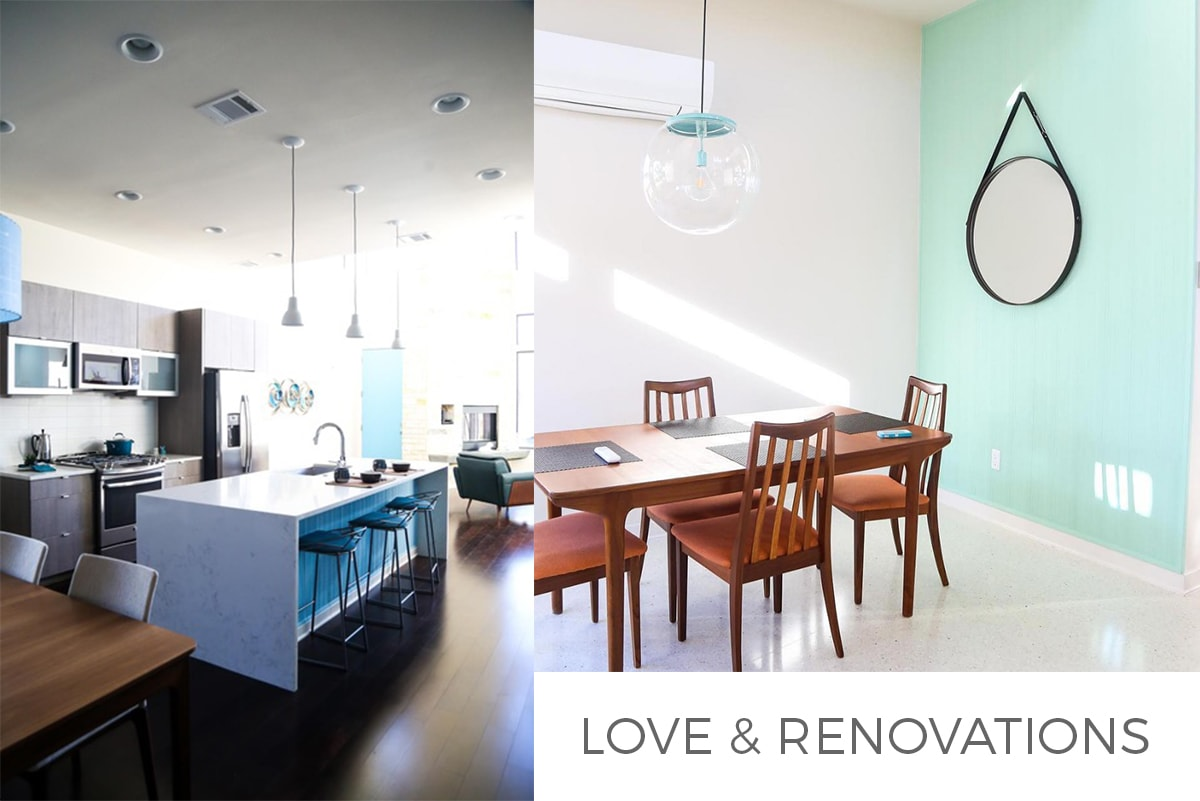 Love & Renovations feature