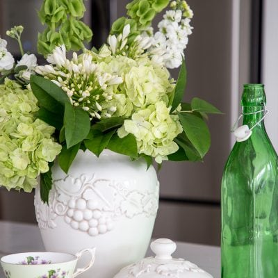 Inviting Spring Into Your Home with an Arrangement of Green Flowers